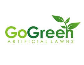 #682 para Logo Design for Go Green Artificial Lawns por herisetiawan