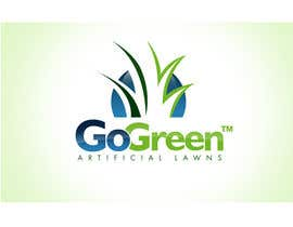 #351 untuk Logo Design for Go Green Artificial Lawns oleh twindesigner