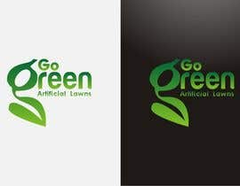 nº 639 pour Logo Design for Go Green Artificial Lawns par madcganteng