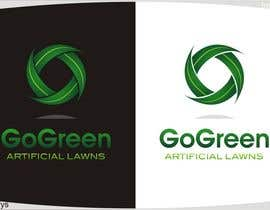 #500 untuk Logo Design for Go Green Artificial Lawns oleh innovys