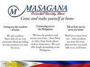 Contest Entry #3 for Write a tag line/slogan and content for a Specialist Philippine Grocery Store