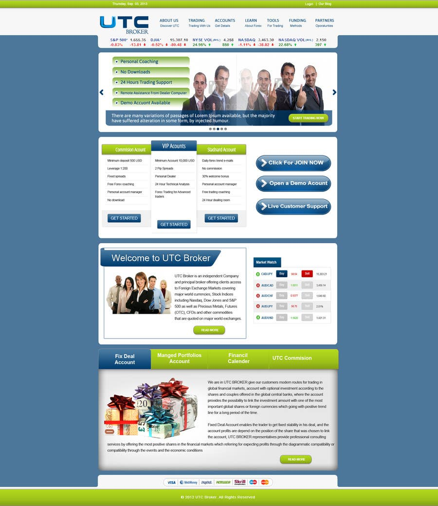 #13 for landing page design by gravitygraphics7