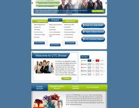 #13 for landing page design af gravitygraphics7