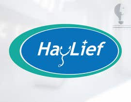 "#15 untuk Design a Logo for New Hayfever Tablet Box called ""Haylief"" oleh moorvina"
