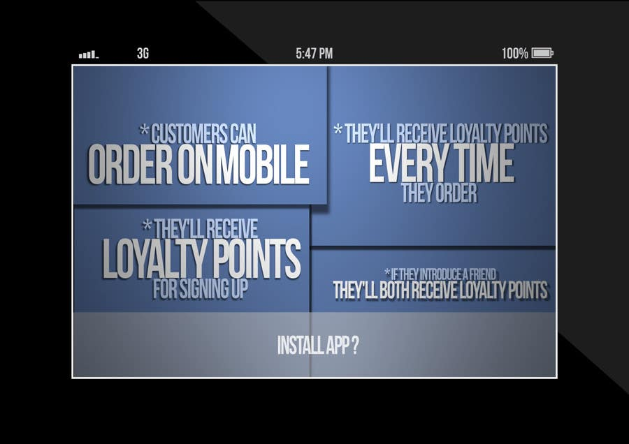 #15 for Design a promotional poster for a mobile app and loyalty programme by EFrad