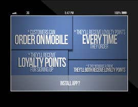 nº 15 pour Design a promotional poster for a mobile app and loyalty programme par EFrad