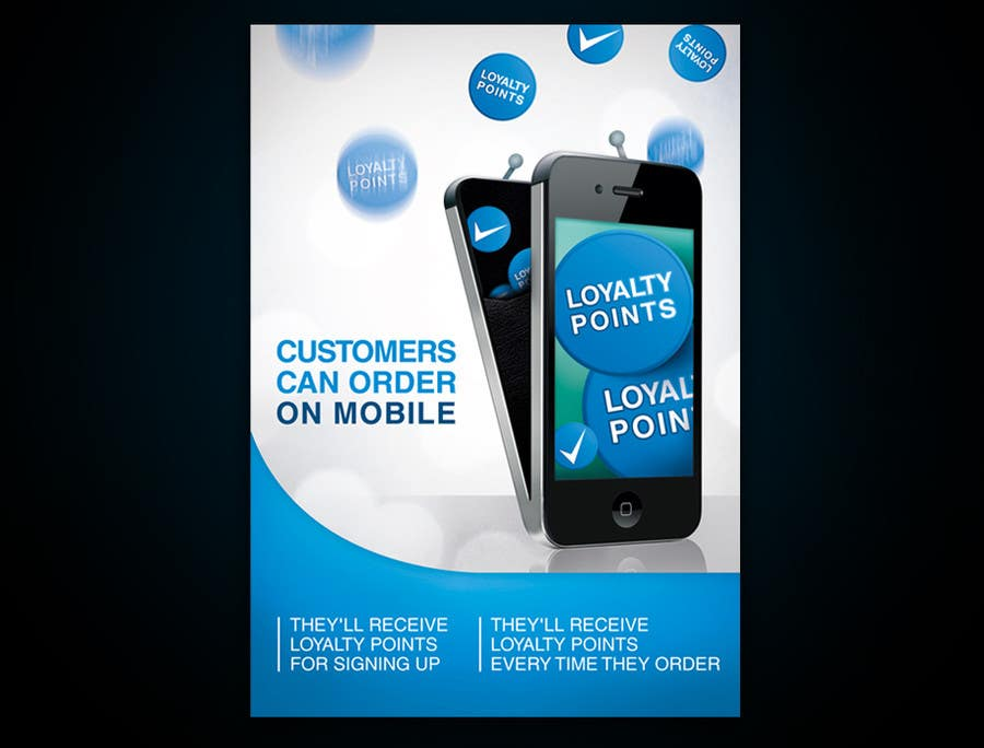 #8 for Design a promotional poster for a mobile app and loyalty programme by YMteam
