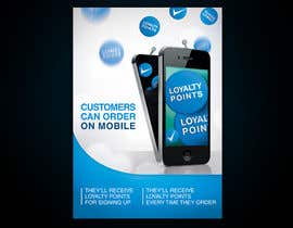 nº 8 pour Design a promotional poster for a mobile app and loyalty programme par YMteam
