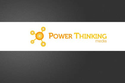 ShinymanStudio tarafından Logo Design for Power Thinking Media için no 353