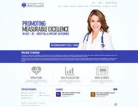 #7 for Design a Website Mockup for mlrems.org using henriettaambulance.org as design template by aliraza91