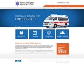 #3 for Design a Website Mockup for mlrems.org using henriettaambulance.org as design template by arunnm89