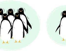 #3 untuk Illustrate a Cute Penguin and His Group!!! oleh azaremba