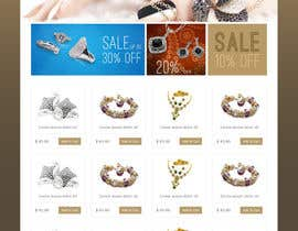 #12 for Jewellery Store HomePage by iquallinfo