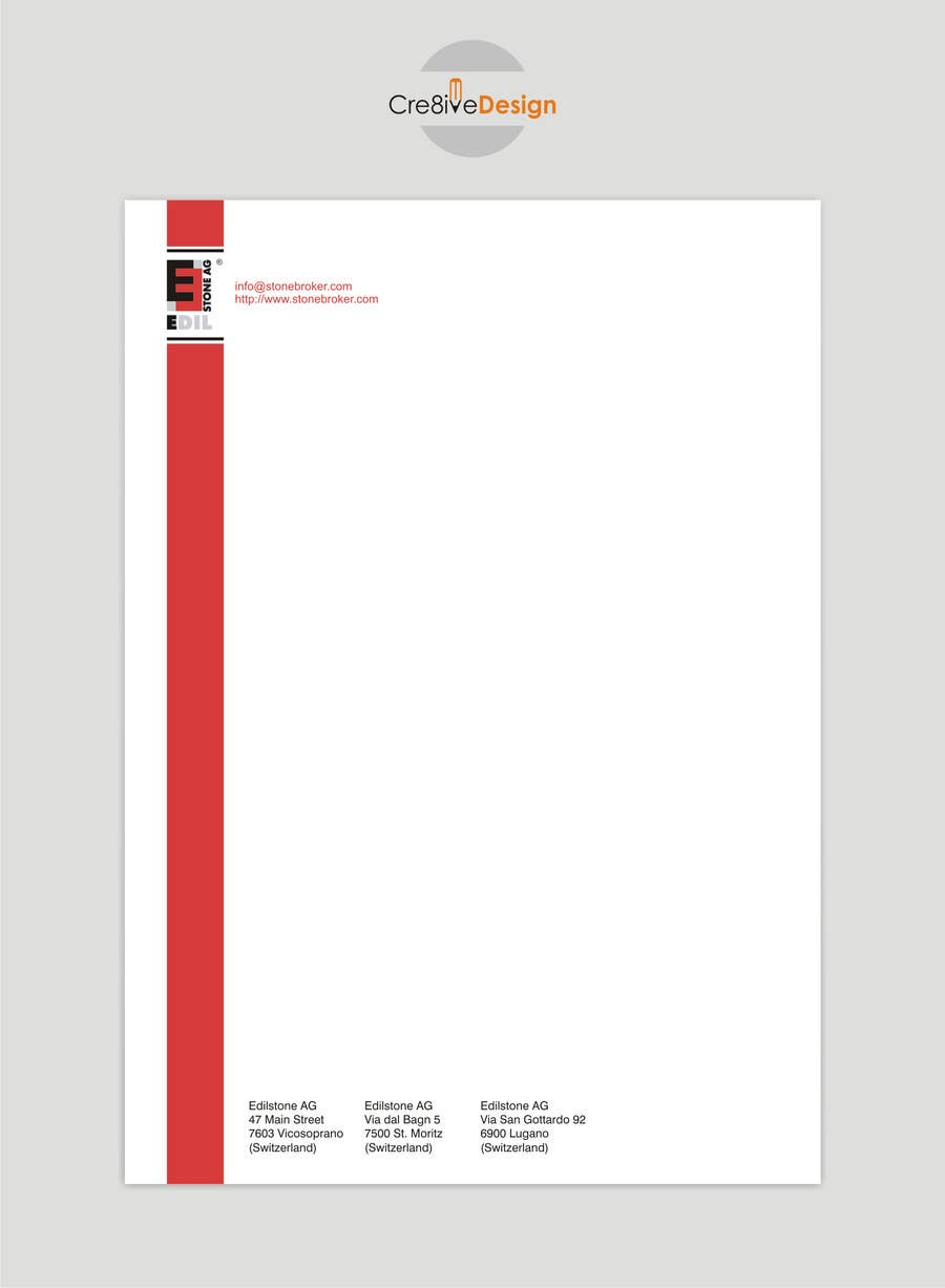 Entry 19 by keshavpatel for design of the letterhead for a contest entry 19 for design of the letterhead for a construction company thecheapjerseys Choice Image