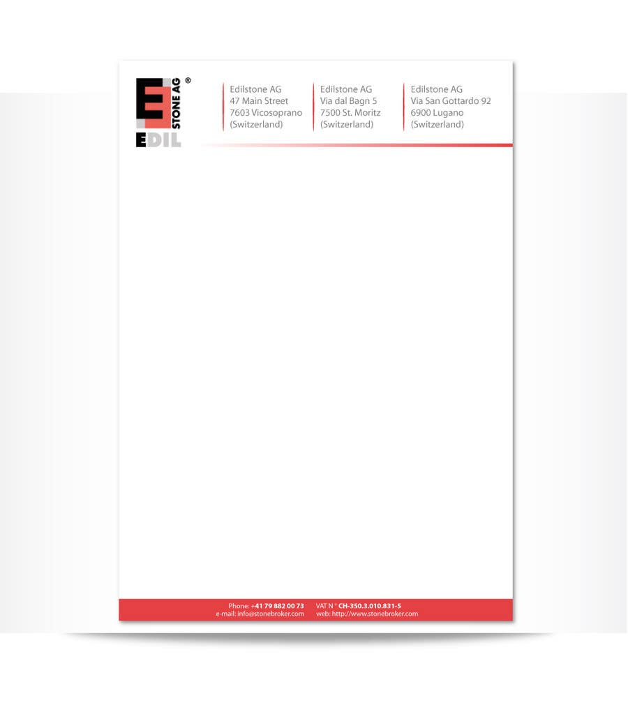 #5 for Design of the letterhead for a construction company by ninjapz