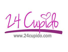 #22 para Logo design for 24CUPIDO.COM por GraphiliaPrints