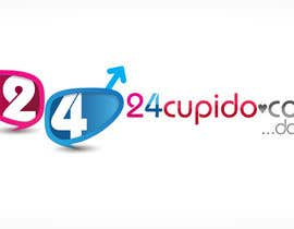 #34 for Logo design for 24CUPIDO.COM by KiVii
