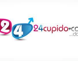 #34 untuk Logo design for 24CUPIDO.COM oleh KiVii