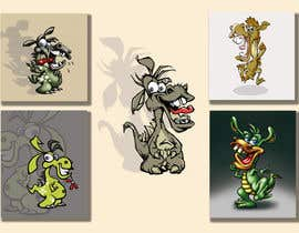 #11 cho Illustrations of a dragon bởi pixell