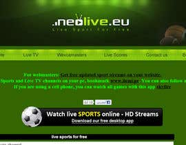 #56 untuk LOGO DESIGN FOR A STREAMING SPORT SITE oleh Wbprofessional
