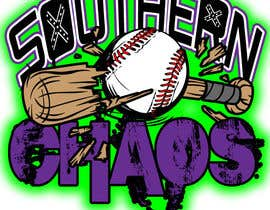 #25 para Design a Logo for Southern Chaos softball team por geronimorubioart