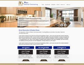 #14 untuk Design a Website Mockup for Western/Cowboy sports med - AND - Renovations oleh gravitygraphics7