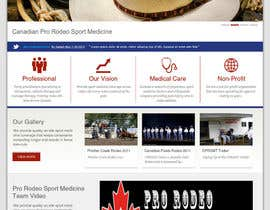 #21 untuk Design a Website Mockup for Western/Cowboy sports med - AND - Renovations oleh JosephNgo