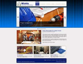 #20 for Design a Website Mockup for Western/Cowboy sports med - AND - Renovations by designBox16