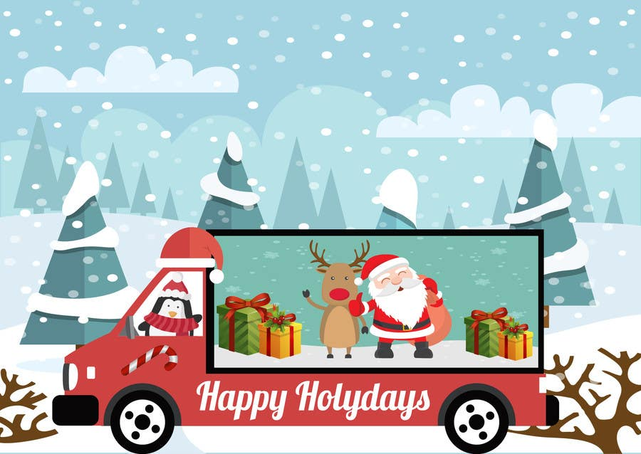 Trucking-company-christmas-cards - Best Wallpapers Cloud