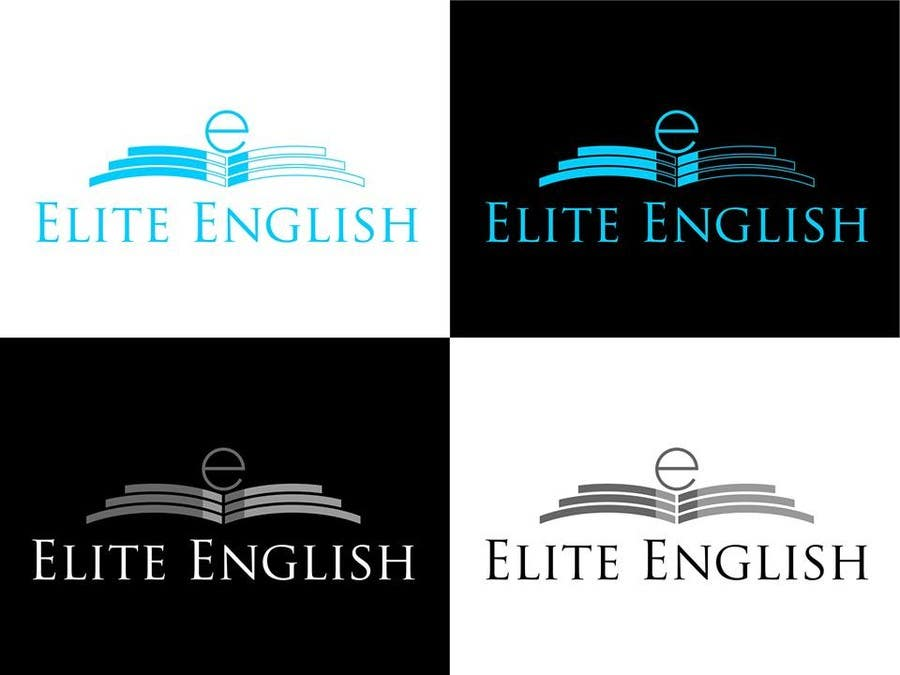 #121 for Design a Logo for Elite English by kertarajasa08