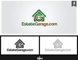 nº 70 pour EstateGarage.com - A Professional Logo Design Contest par designrider