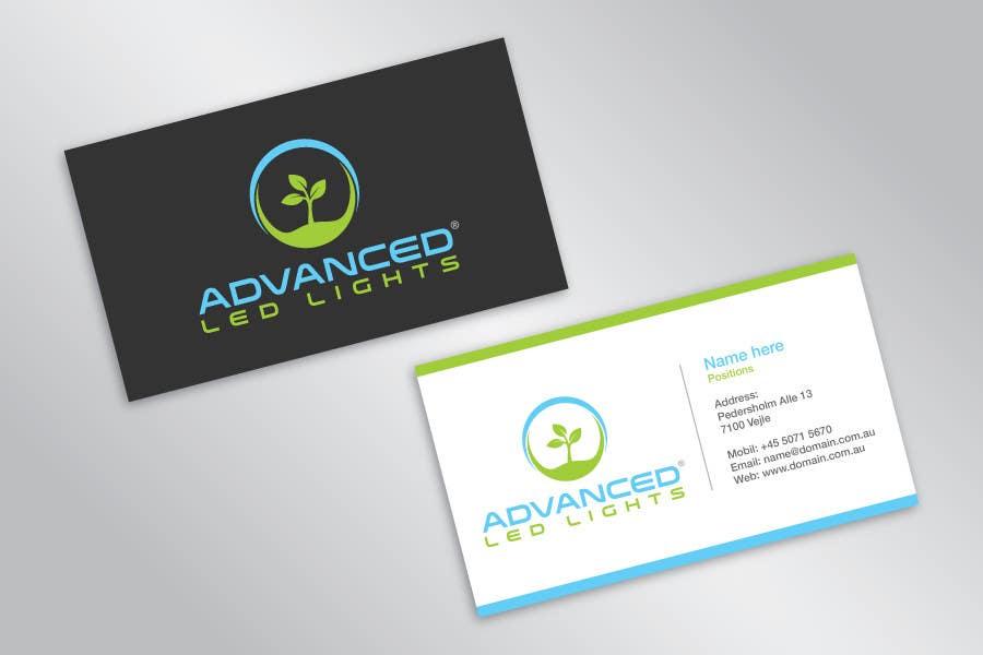 LED Light pany Business Card