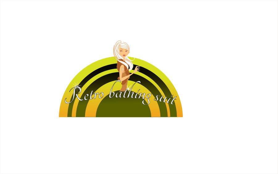 Bài tham dự cuộc thi #                                        34                                      cho                                         Design a Logo for Retro Bathing Suit website and print