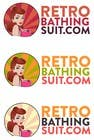 Bài tham dự #13 về Graphic Design cho cuộc thi Design a Logo for Retro Bathing Suit website and print