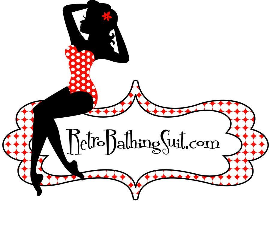 Bài tham dự cuộc thi #                                        20                                      cho                                         Design a Logo for Retro Bathing Suit website and print