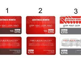 #12 para Crear diseño de impresión y presentación Credit Card Style de corradoenlaweb
