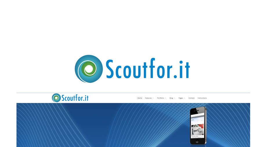 #23 for Design a Logo for http://scoutfor.it by speedpro02