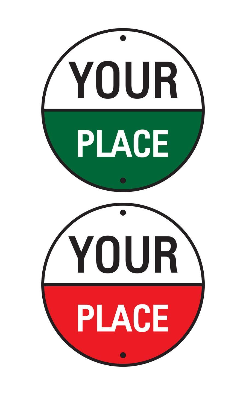 Kilpailutyö #                                        616                                      kilpailussa                                         Logo Design for Your Place