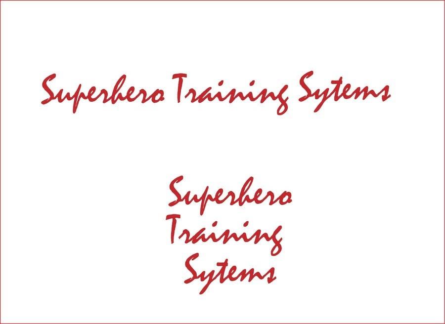 "#1 for Design a Logo for ""Superhero Training Systems"" by roborean"