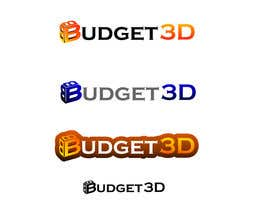 #95 for Design a Logo for Budget 3D by sheka87