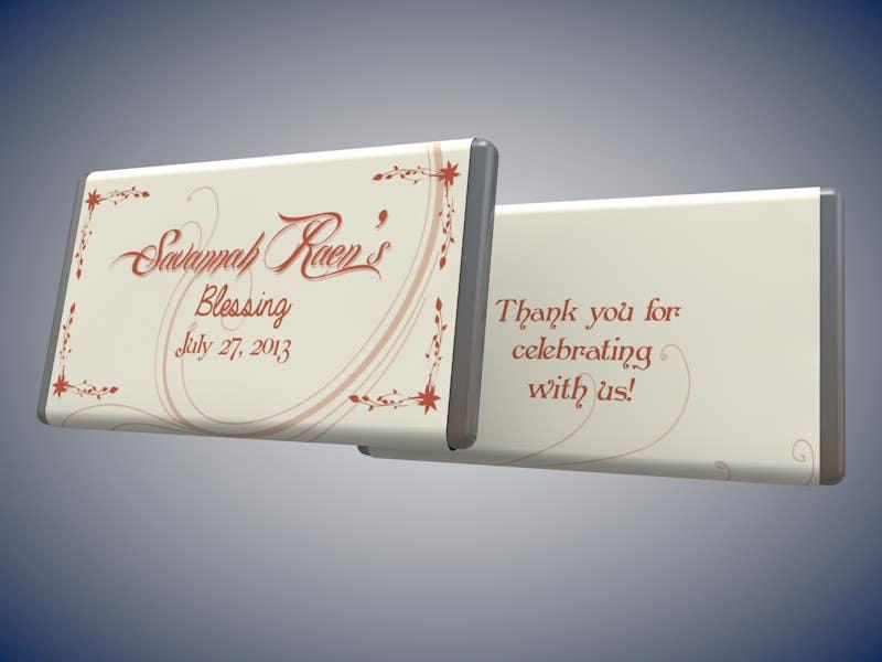 Bài tham dự cuộc thi #                                        14                                      cho                                         Design a Hershey Bar wrapper in Photoshop
