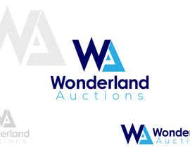 #87 for Design a logo for Wonderland Auctions af aqstudio