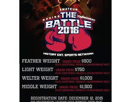 #6 for Design a Flyer for my Boxing tournament Easy money! by CorneliaTeo