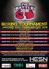 Graphic Design Contest Entry #12 for Design a Flyer for my Boxing tournament Easy money!