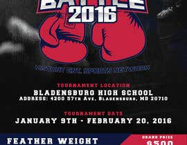 #9 for Design a Flyer for my Boxing tournament Easy money! by arekkusakkusa