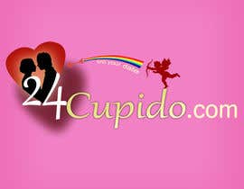 #26 for Logo design for 24CUPIDO.COM - repost by widya83