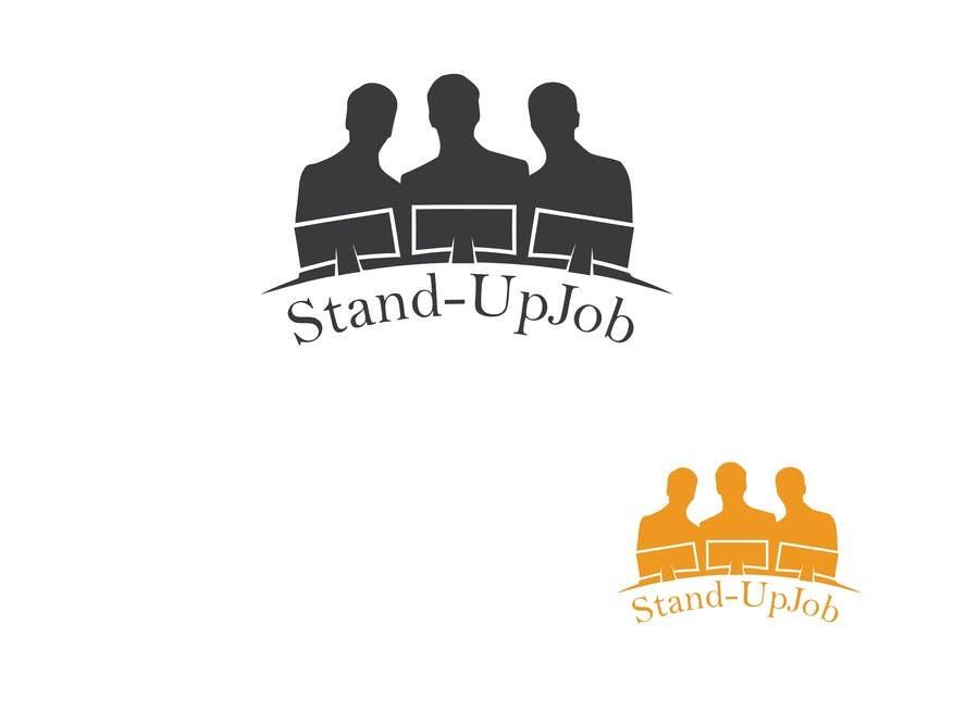 Bài tham dự cuộc thi #                                        75                                      cho                                         Design a Logo for Stand-UpJob.com