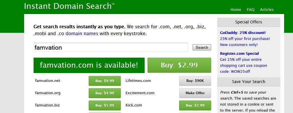 #40 untuk I need domain name suggestions for a Startup oleh RennRSL