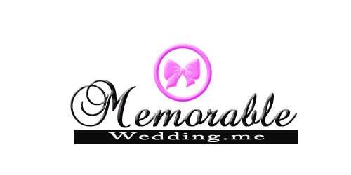 """Konkurrenceindlæg #38 for Design logo for """"Memorable Wedding.me"""""""