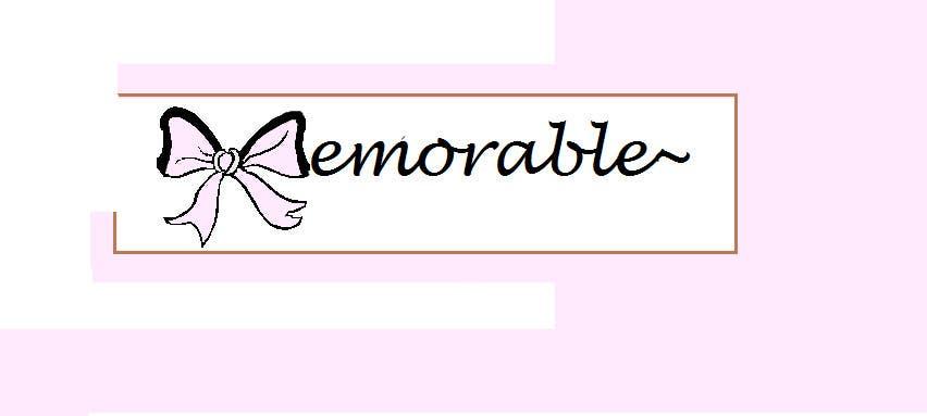 """Konkurrenceindlæg #18 for Design logo for """"Memorable Wedding.me"""""""
